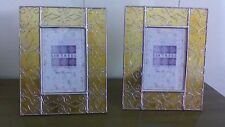 Sixtrees Metal and Glass Picture Frames