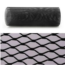 Car Intercooler Grille Net Mesh Black Aluminium Hexagonal Style 100x33CM X 1pc