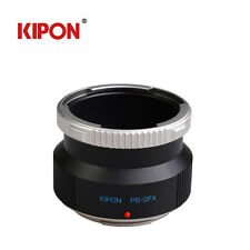 Kipon Adapter For Pentacon 6 Kiev 60 Bayonet Lens to Fujifilm G-Mount GFX 50S