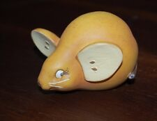 Home Grown from Enesco Pear Mouse Free Shipping Rare Great!!