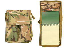 Army Military Note Pad Book Holder Waterproof BTP Camo A6 Binder Nirex Orders