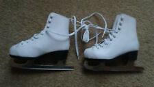 American Athletic Shoe Figure Skates, Youth Size 12, White