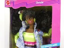 "1989 Mattel Barbie and The Beat ""Christie"" #2754 New"