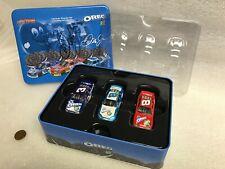 SIGNED 1:64 DALE EARNHARDT JR #3 #8 OREO / RITZ 3 CAR SET NASCAR AUTOGRAPHED