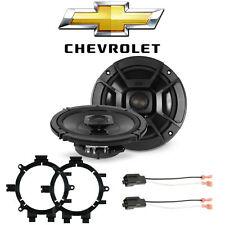 Chevy Silverado 1999-2006 Front Speaker Upgrade Polk DB652, 82-3002, 72-4568