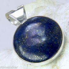 Lapis lazuli plata 925 28mm evo2 seguidores & cierre combinación S-gancho Act.