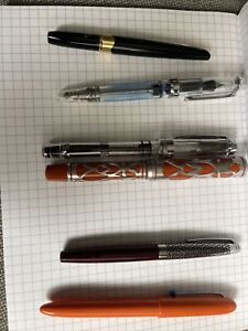 (6) Assorted Fountain Pens