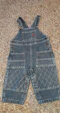 Tommy Hilfiger Boys Size 6-12 Months Jean Denim Overalls