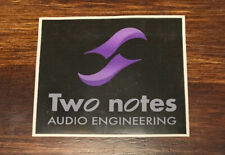 Two Notes Audio Engineering Sticker / Decal