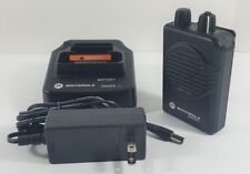 Motorola Minitor V Vhf 151 158 Mhz 1 Channel Stored Voice Pager A03kms9238bc