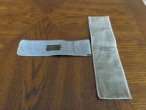 Vintage Galt & Brothers/Woodward Lothrop Sterling Silver Storage Bags (2)