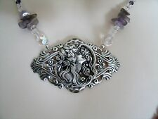 Goddess Hecate necklace, wiccan pagan wicca witch witchcraft magic metaphysical
