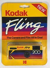 Vintage Kodak Fling Camera & 110 Film All In One New Sealed Package