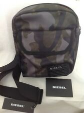 DIESEL F CLOSE CROSS Cross Body Bag Shoulder Camouflage Messenger Bag
