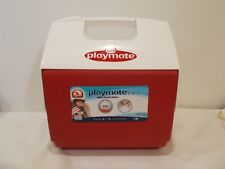 Igloo Playmate Pal 7 Quart Personal Sized Cooler Red/White