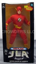 "DC JLA Justice League of America THE FLASH 10"" Fully Poseable Figure Hasbro NIP"
