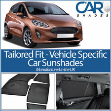 Ford Fiesta 5dr 2017+ UV CAR SHADES WINDOW SUN BLINDS PRIVACY GLASS TINT BLACK