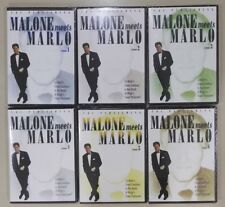 Factory Sealed - Bill Malone Meets Marlo - Best of Card Magic Trick DVD 6 DVD