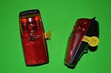 Gazelle Led Rücklicht mit Batterien und Schalter SPX. Original Gazelle Teil.
