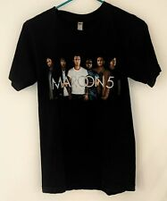 Maroon 5 Tour 2017 2-Sided Concert T-Shirt w/ Cities Adam Levine Mens Size Small