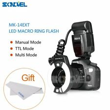 Meike MK-14EXT iTTL TTL LED Macro Ring Flash Light for Canon 5D MarkII/600D/7D