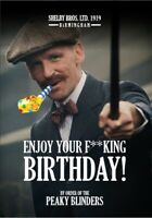 Funny Peaky Blinders Birthday Card