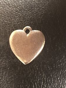 James Avery Sterling Silver .925 Flat Classic Heart Charm