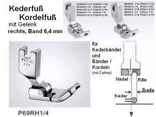 Kederfuß/ KORDELFUß rechts für BAND 6,4 mm P69RH 1/4