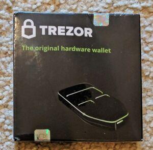 Brand New!!! Trezor The Original Hardware Wallet (White)