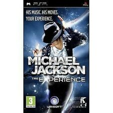 Psp PLAYSTATION Portable Game Michael JACKSON - The Experience Dance Game New