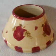 Retired Large Home Interiors Apple Candle Soot Stopper Shade