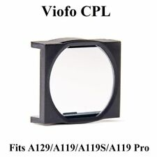 Original Cpl Filter Lens Cover For Hd Viofo A129 Duo / A119 /A119S Car Dash Cam