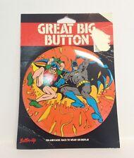 Batman Great Big Button   Button Up   Original Card   2011