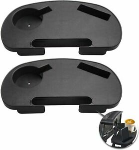 2 PCS Sun Lounger Cup Holder Zero Gravity Recliner Chair Clip Side Tray Table