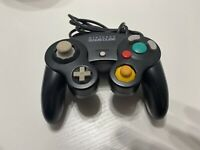 Official Genuine OEM Nintendo GameCube Controller Black DOL-003 Tested Tight