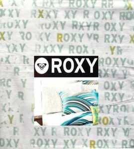 QUIKSILVER ROXY LOGO CAMI GREEN WHITE 3PC TWIN XL SHEETS BEDDING SET NEW