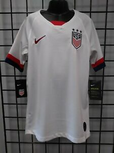 NIKE 2019 WOMENS WORLD CUP USA YOUTH 3-STAR HOME JERSEY (AJ4448-100) SIZE YL