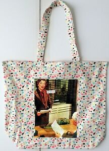 Thin Cotton Shopping Bag With Sarcastic Retro Pic