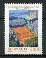 Monaco 2019 MNH Rolex Monte-Carlo Masters 2019 1v Set Tennis Sports Stamps
