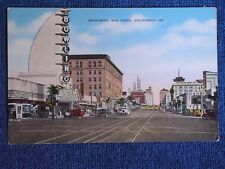 San Diego CA/Broadway/Tower Bowl-Modern Architecture Bowling Alley/Linen PC