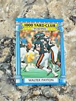 1987 Topps 1000 Yard Club Walter Payton #7 Chicago Bears NFL Football Card