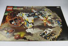 LEGO MANUAL DE INSTRUCCIONES N º 4980 Sistema Nave Espacial Falda RAIDERS