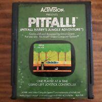 Pitfall ( Atari 2600 ) Cartridge Only - NTSC -U/C - Tested & Working