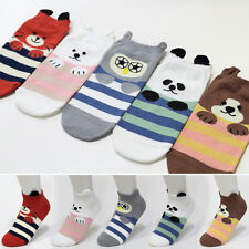 5 Pairs Lovely Animal Socks Womens Big Kids Cute Character Socks MADE IN KOREA