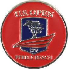 2019 US Open (Pebble Beach) -Flat- (Red) Logo Golf BALL MARKER