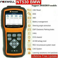 Foxwell NT530 fit for BMW Full System OBD2 Scanner Diagnostic Tool SAS DPF ABS