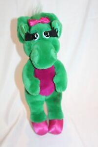"Barney Baby Bop Dinosaur 18"" Dakin 1992 The Lyons Group Stuff Animals Plush"