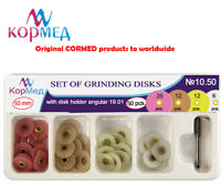 10.50 Dental Finishing Polishing Discs Metal Connector (Diameter 10 mm, 50 pcs)