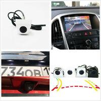 White Intelligent Dynamic Trajectory Car Rear View Reverse Parking Backup Camera
