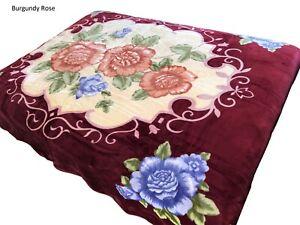 4 ESTACIONES Mink Plush Korean Durable Blanket By Solaron Company